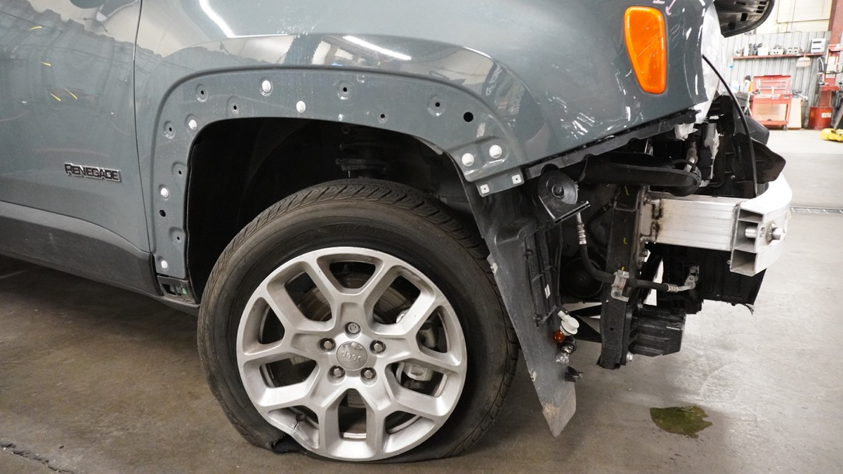 Jeep collision repair at Jay Walton Automotive